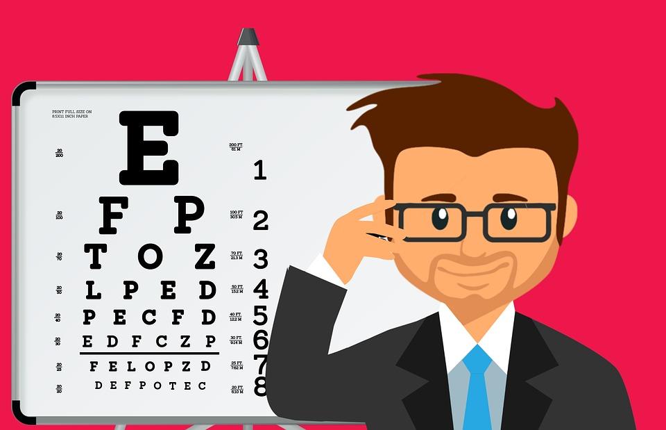 온라인 시력 검사 방법