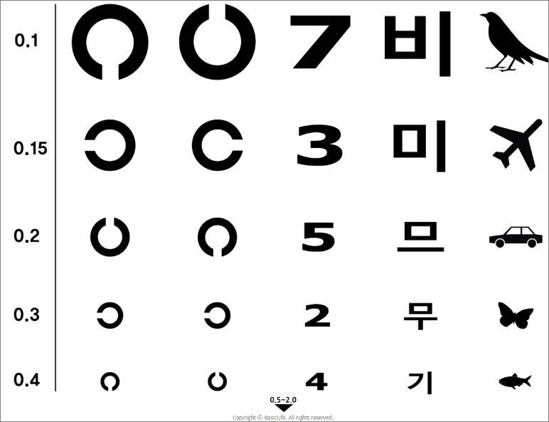 시력 검사